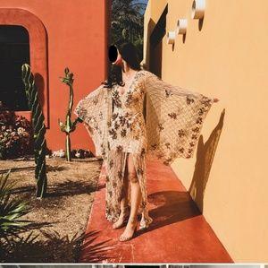 Missguided Sequin Kimono Dress